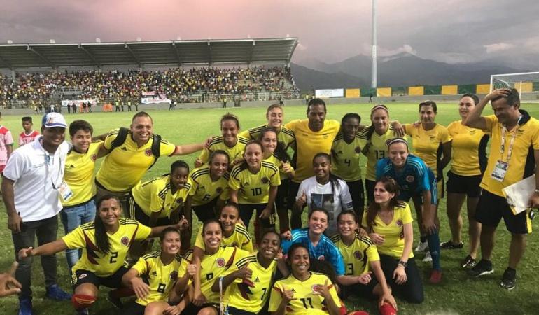 Selección Colombia Juegos Bolivarianos: La Selección Colombia femenina de fútbol consiguió oro en los Bolivarianos