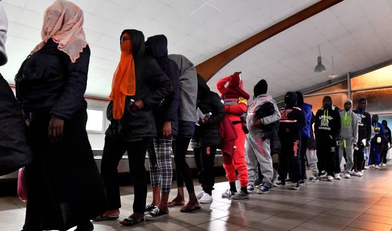 África Libia migrantes como esclavos: Organismos internacionales rechazan supuesta venta de migrantes como esclavos en Libia