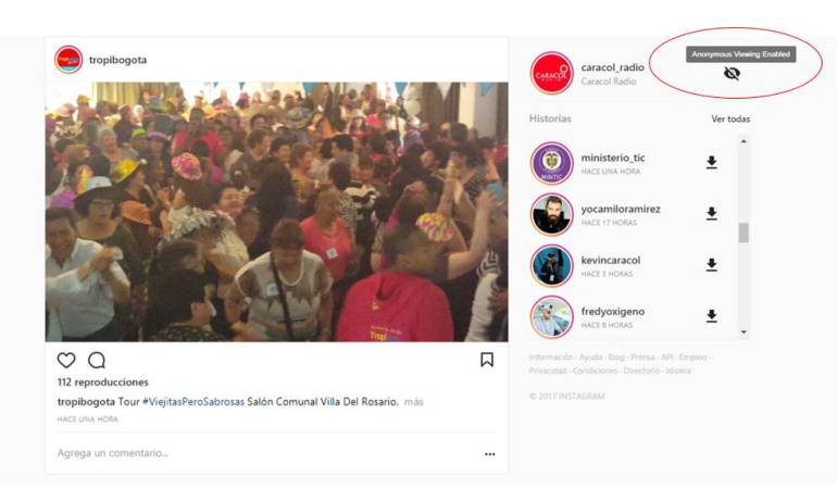 Plugin de Chrome permite ver Instagram Stories anónimamente