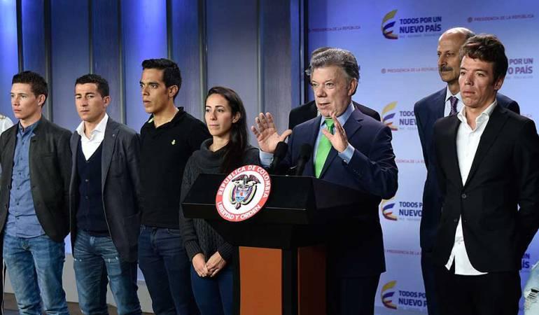 ¿Si Rigoberto Urán fuera presidente?