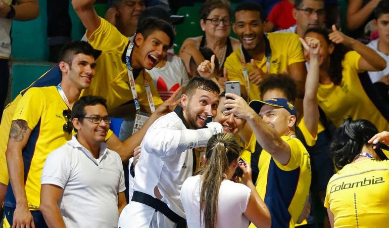 Colombia tres medallas de oro taekwondo: Colombia domina en el cierre del taekwondo con tres medallas de oro