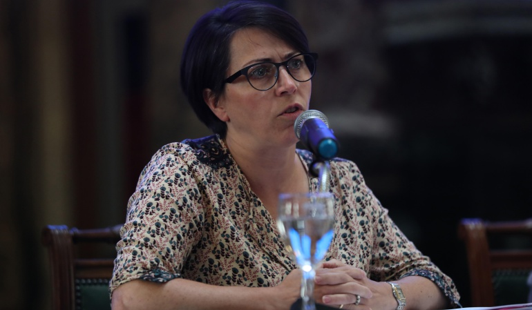 Mireia Villar, coordinadora residente de las Naciones Unidas en Uruguay.