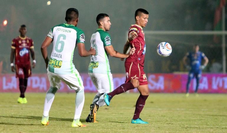 Tolima Nacional cuartos de final Liga Águila: Tolima da un golpe de autoridad y supera a Nacional en la ida de los cuartos de final