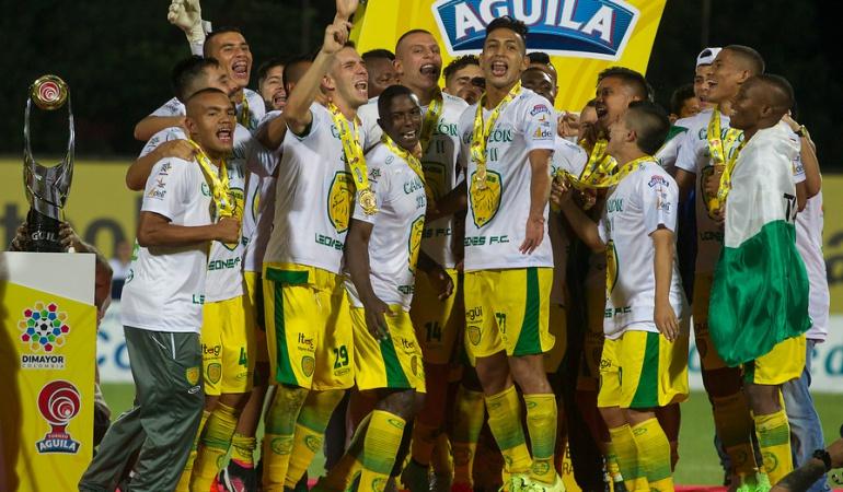 Leones ascenso Llaneros primera división: Leones vence a Llaneros en la final y jugará en la A el próximo año