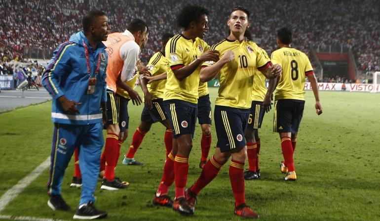 Colombia, Perú, Mundial de Rusia 2018.: Colombia y Perú, las selecciones mas jóvenes de América en el Mundial