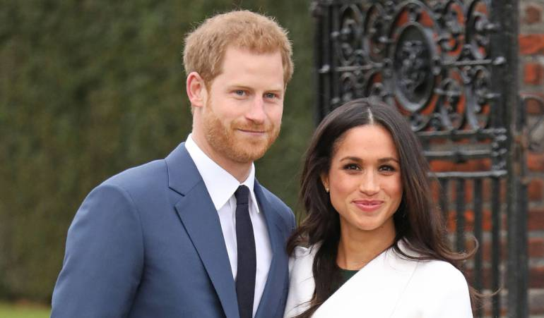 Las claves de la foto oficial del príncipe Harry y Meghan Markle tras el anuncio de su compromiso