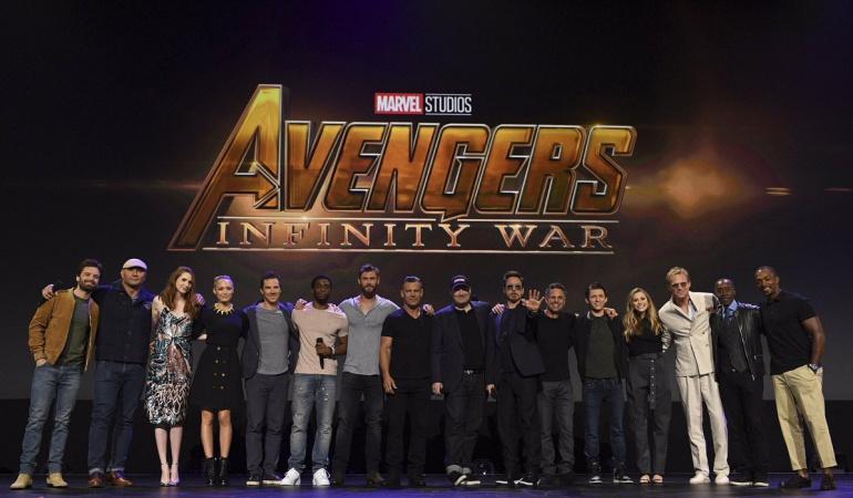 10 años de la industria cinematográfica de Marvel: Avengers Infinity War, protagonista en la portada de Vanity Fair