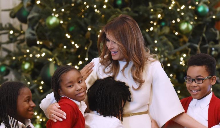 La navidad en la Casa Blanca: Melania Trump deja su sello en su primera decoración navideña de la Casa Blanca