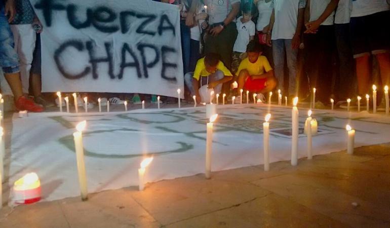 """chapecoense: """"Para siempre Chapé"""", el portal web en homenaje a los eternos guerreros"""