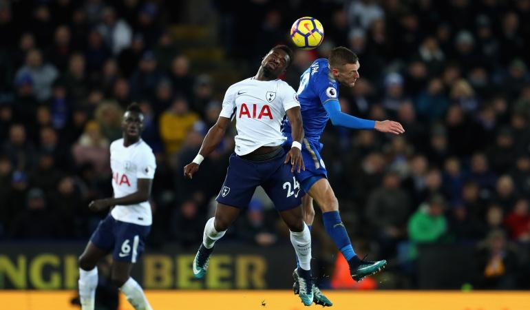 Dávinson sánchez Tottenham: Tottenham con Dávinson tropieza en Leicester y se aleja del título