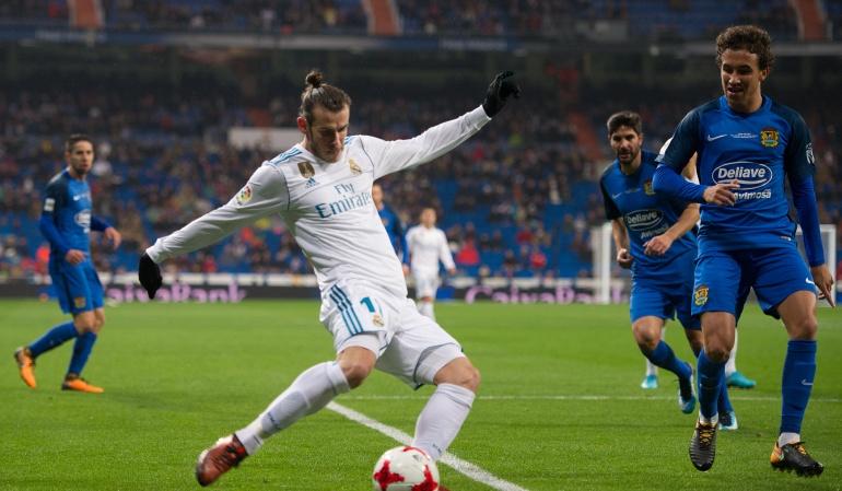 Real Madrid sufre con el Fuenlabrada en la Copa del Rey