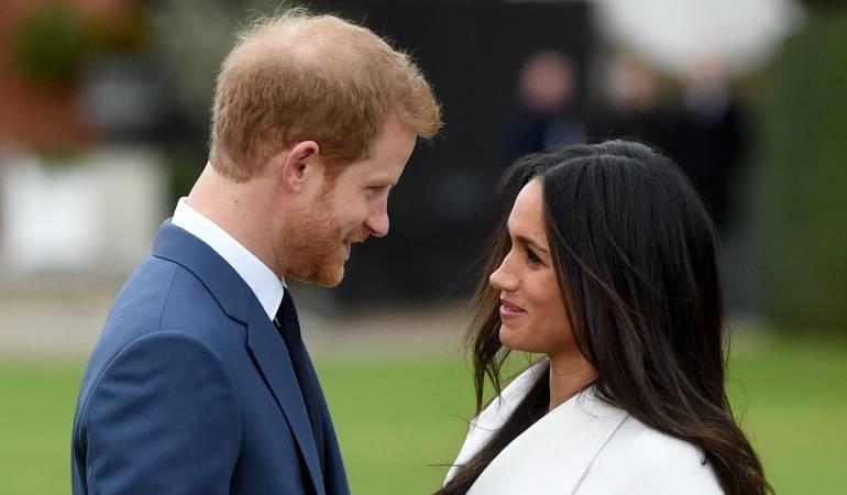 Príncipe Harry y Meghan Markle se casan en mayo 2018 en castillo Windsor