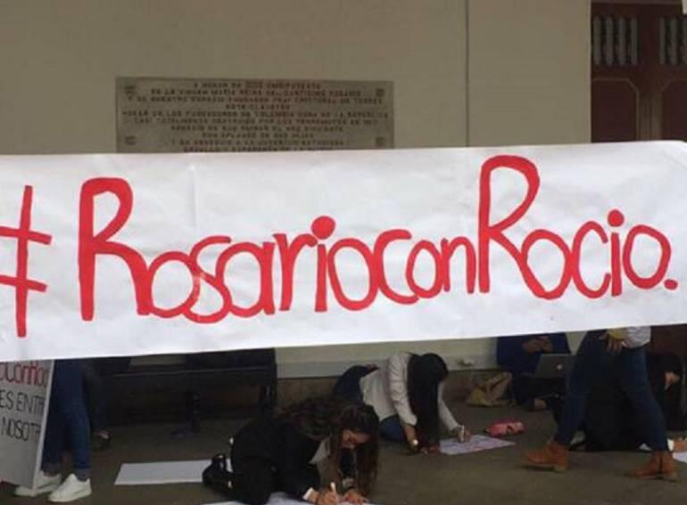 Profesora Peña tomará medidas contra estudiantes de la Universidad del Rosario