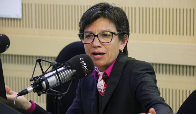Tutelas en contra de Claudia López.: Claudia López alista denuncia para defenderse de amenazas y censura
