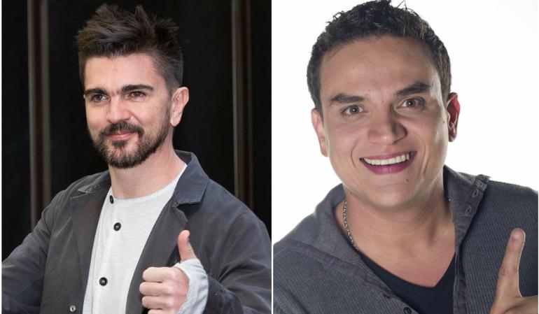 Premios Grammy: Juanes y Silvestre, agradecidos y afortunados