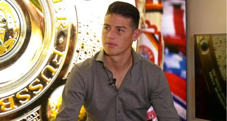 James Rodriguez Bayern Munich Conmoción Cerebral.: James cuenta detalles de los minutos que vivió tras la conmoción cerebral