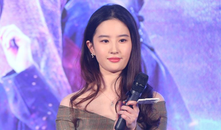 La actriz china Liu Yifei