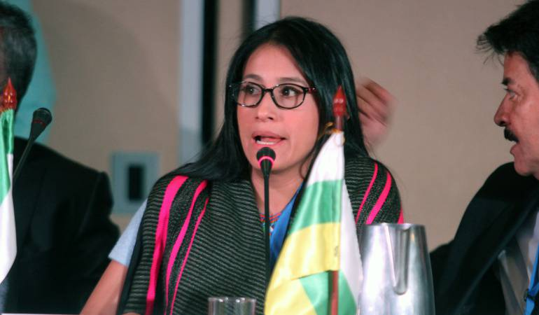 Este viernes imputan cargos a la gobernadora del Putumayo