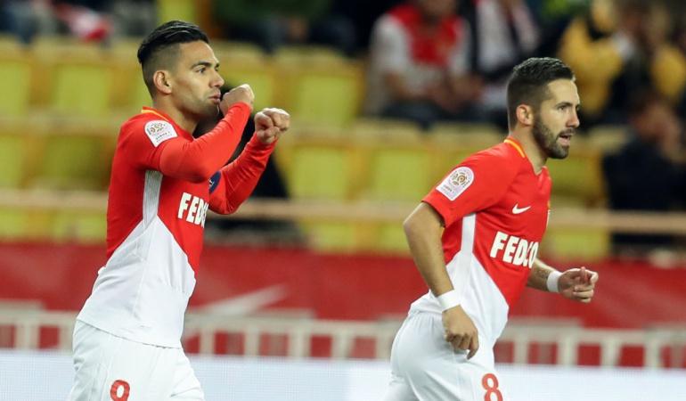 falcoa gracia monaco: Falcao anota para el triunfo del Mónaco y llega a 14 goles en Francia