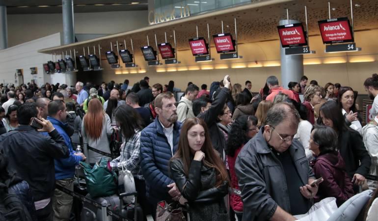 Cancelación de vuelos de avianca: 3.600 pasajeros afectados por cancelación de vuelos de Avianca