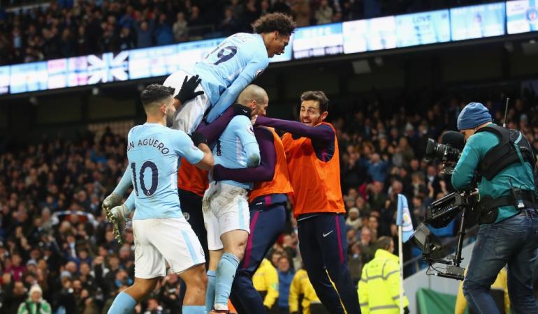 Manchester City David Silva: David Silva alarga la racha del Manchester City