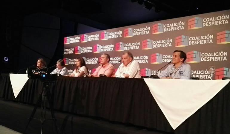 """Ramírez, Ordóñez y el Centro Democrático irán como """"Coalición Despierta"""" por la Presidencia"""