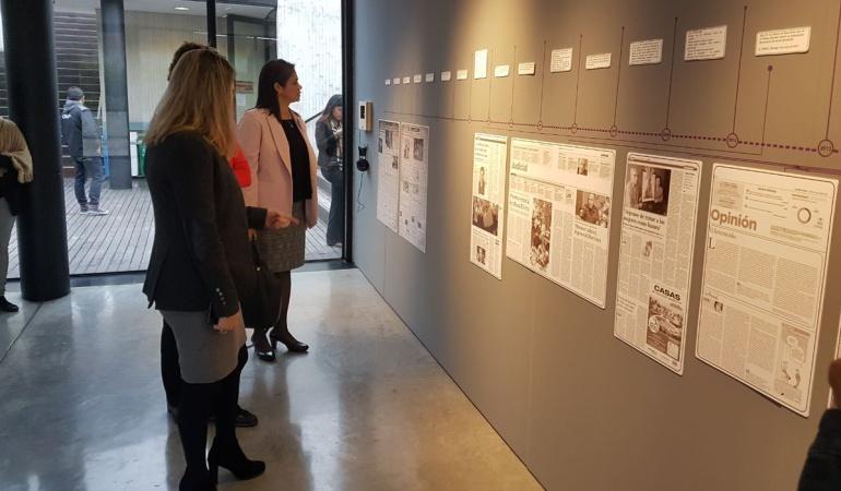 """""""Feminicidio"""" ¡Ni una más!, la exposición que se realizó en conmemoración a Yuliana Samboní"""