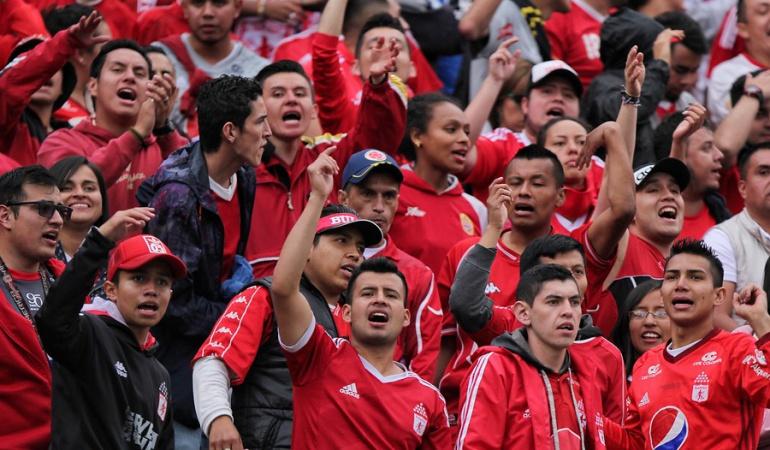 América Millonarios hinchas: Hinchada del América no podrá ingresar a El Campín