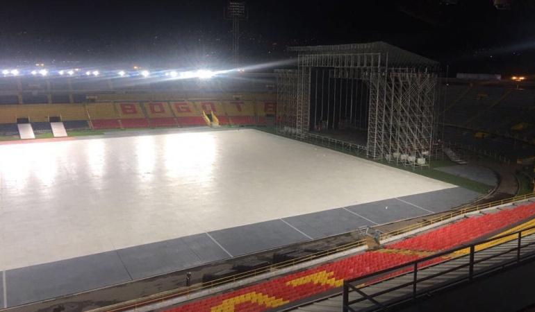 Bruno Mars estadio El Campín: El Campín toma medidas y garantiza el estadio para el fin de semana