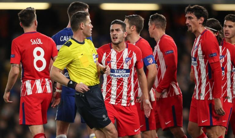 Atlético de Madrid eliminado fase de grupos Liga de Campeones: Atlético se queda en fase de grupos de Champions por primera vez en la era Simeone