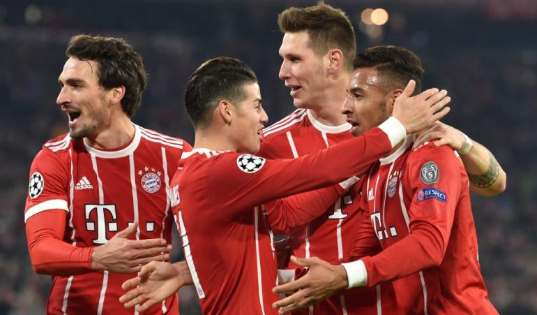 Bayern Múnich 3-1 PSG James Rodríguez: Destacada actuación de James en la victoria del Bayern sobre el PSG
