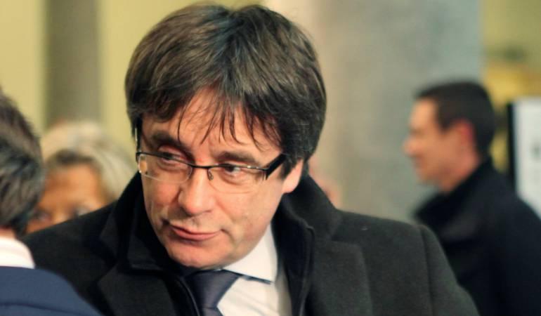 Retiran la orden de detención europea contra Carles Puigdemont