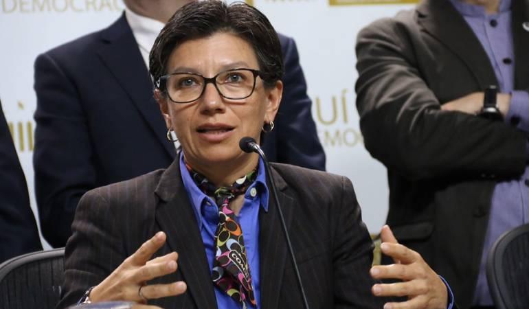 Claudia López: Radicaron demanda de pérdida de investidura contra Claudia López