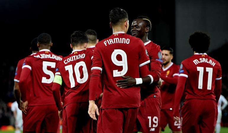 Liverpool: Liverpool aplastó al Spartak y pasó como primero de su grupo a octavos de Champions