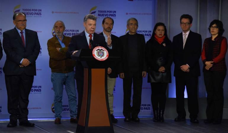 Postconflicto en Colombia: Comisión de la verdad no será una cacería de brujas: Santos