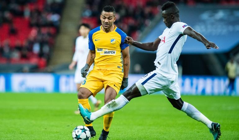 Davinson Sánchez: Con Dávinson en cancha, Tottenham ratificó el primer lugar de su grupo en Champions