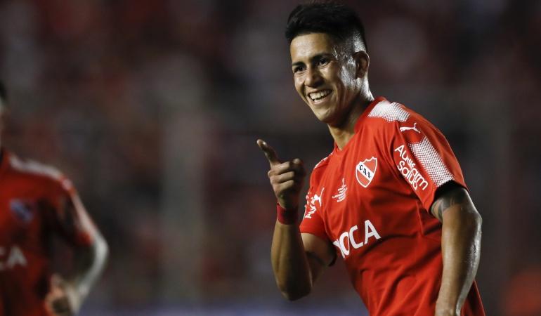 Independiente 2-1 Flamengo final Copa Sudamericana: Independiente remonta al Flamengo de Rueda y toma ventaja en la primera final
