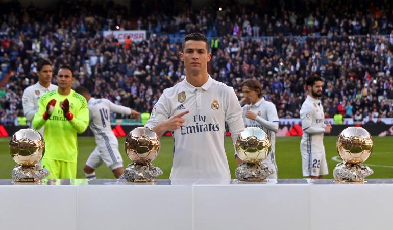 Balón de Oro 2017: Cristiano Ronaldo, el gran favorito para ganar el Balón de Oro 2017