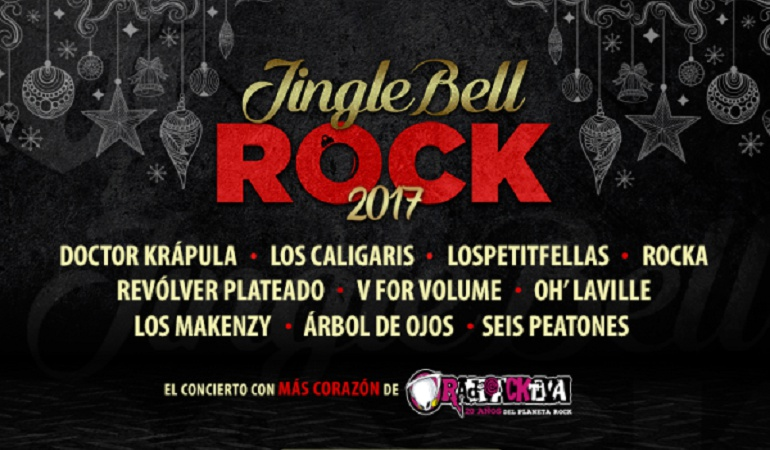 Jingle Bell Rock: Los Caligaris, Doctor Krápula y Los Petitfellas le ponen ritmo al Jingle Bell Rock