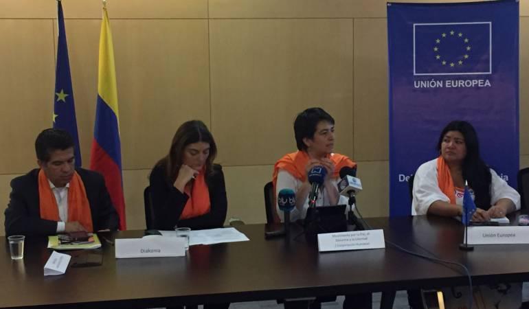 Unión Europea: UE estrena proyectos para derechos humanos y violencia sexual en Colombia
