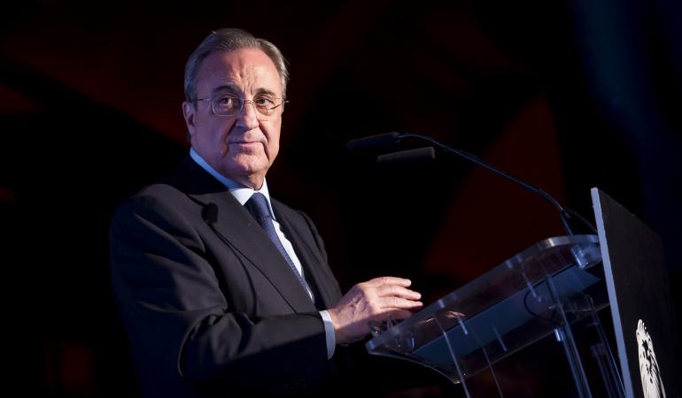 Florentino Pérez sobre Neymar: Neymar tendría más opciones de ser balón de oro en el Madrid: Florentino Pérez