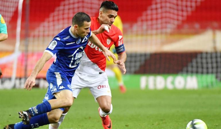 Falcao Mónac 3-2 Troyes: Con Falcao en cancha, Mónaco remonta ante el Troyes y sigue segundo