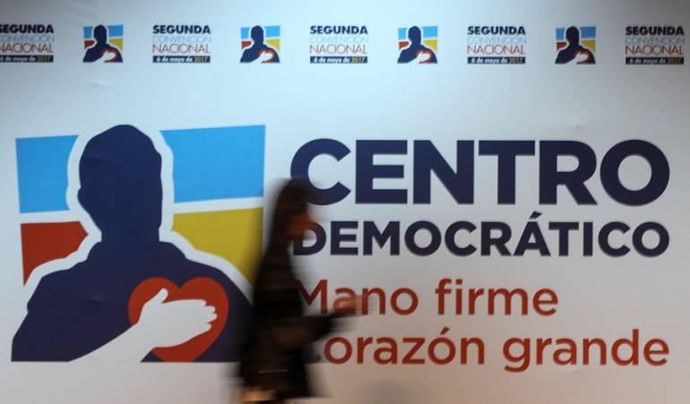 Iván Duque, candidato del Uribismo a la Presidencia en 2018