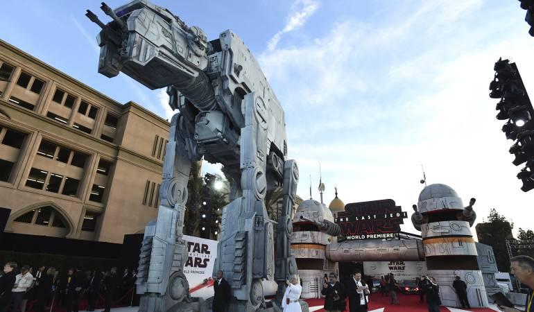 Elaborado estreno de Star Wars en Los Angeles