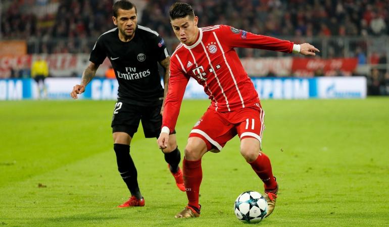 Cabezazo de Arturo Vidal le dio el triunfo al Bayern Munich
