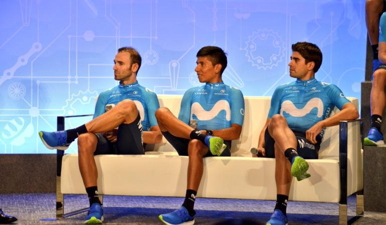 Mikel Landa compañero no rival Nairo Quintana: Landa es un compañero, no un rival: Nairo Quintana