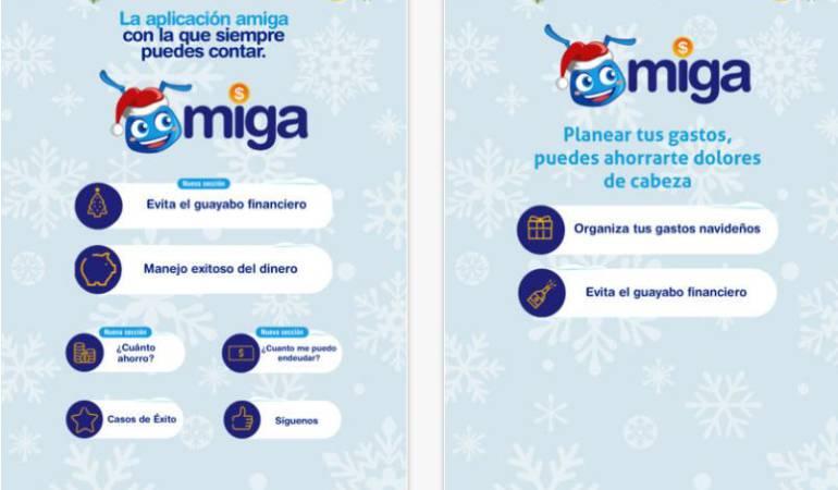 App economía de bolsillo: Una app lo ayuda a evitar el guayabo financiero en Navidad