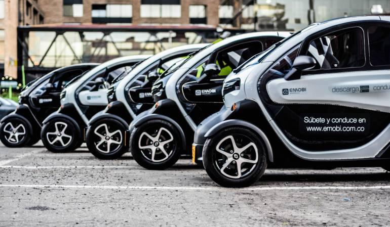 EMOBI: Conozca cómo rentar carros 100% eléctricos en Bogotá