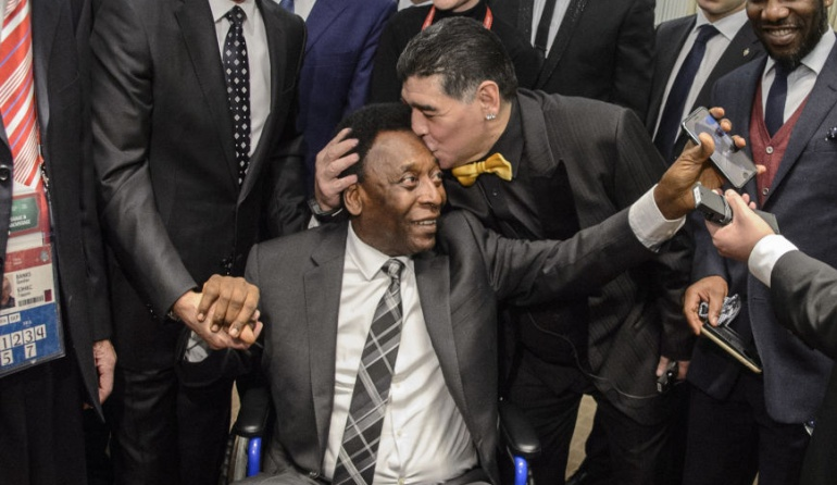 Copa Libertadores: Pelé y Maradona serán homenajeados en el sorteo de Copa Libertadores