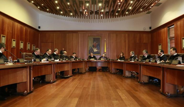 Sala plena del Consejo de Estado